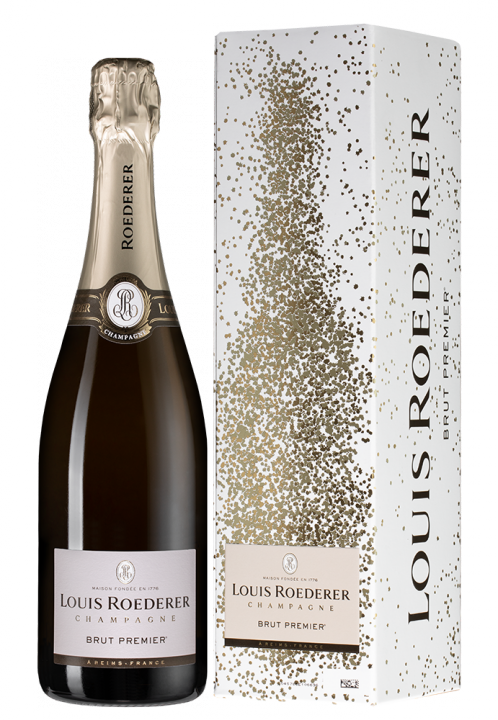 Louis Roederer Brut Premier (graphic gift box), 0.75 л.