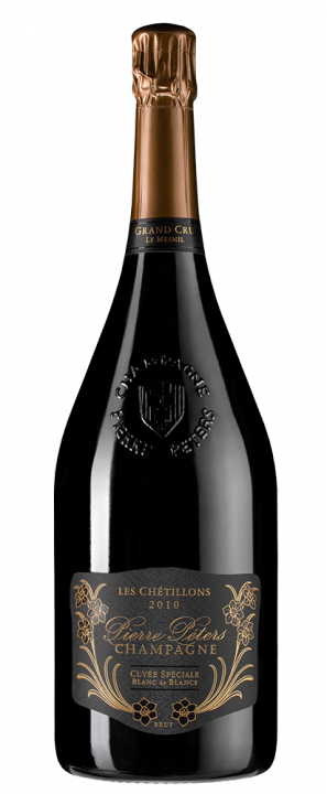 Champagne Pierre Peters Cuvee Speciale les Chetillons Brut Grand Cru, 1.5 л., 2010 г.