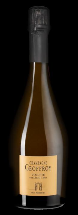 Champagne Geoffroy Volupte Brut Premier Cru, 0.75 л., 2011 г.