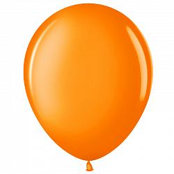 """Шар (5""""/ 13 см), оранжевый, пастель, 100 шт"""