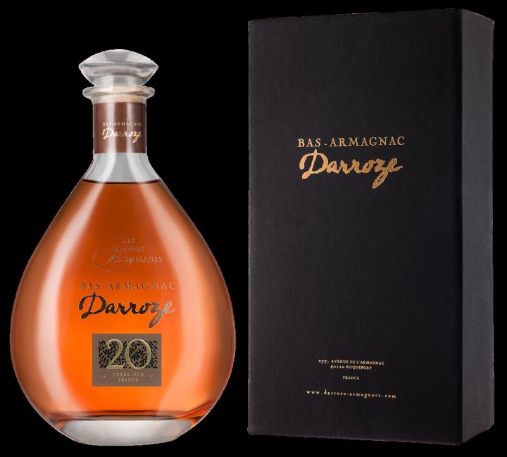Bas-Armagnac Darroze Les Grands Assemblages 20 Ans d'Age, 0.7 л.