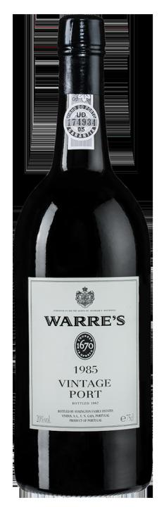 Warre's Vintage Port, 0.75 л., 1985 г.