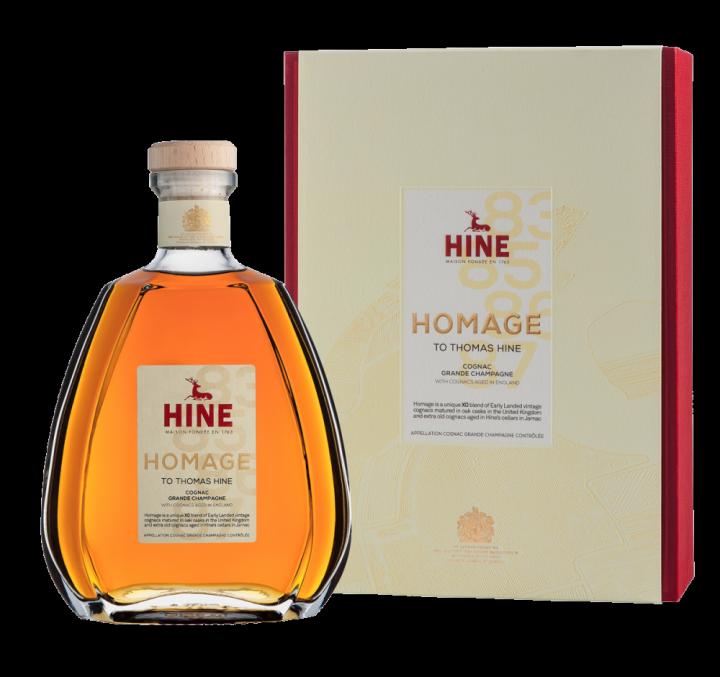 Hine Homage Grand Cru Fine Champagne, 0.7 л.
