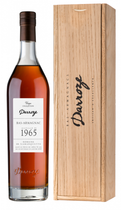 Bas-Armagnac Darroze Unique Collection Domaine de Peyrot a Ste Christie d'Armagnac 1965, 0.7 л., 1965 г.