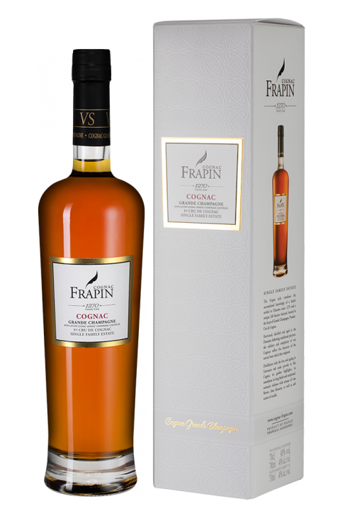 Frapin VS 1270 Grande Champagne in giftbox, 0.7 л.