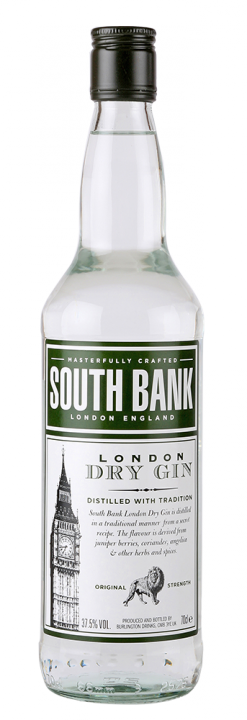 South Bank London Dry Gin, 0.7 л.