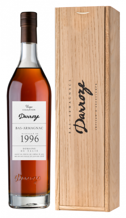 Bas-Armagnac Darroze Unique Collection Domaine de Salie au Freche 1996, 0.7 л., 1996 г.