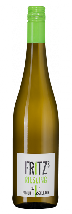 Fritz's Riesling, 0.75 л., 2017 г.