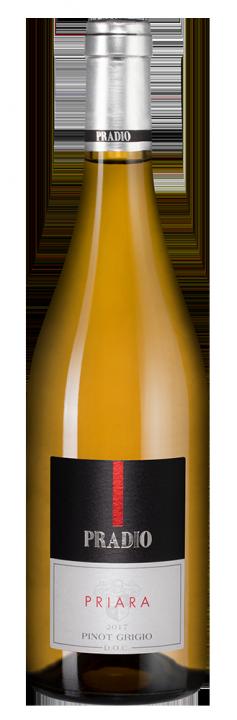 Priara Pinot Grigio, 0.75 л., 2017 г.