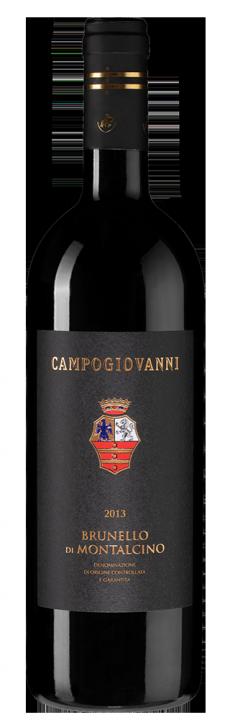 Brunello di Montalcino Campogiovanni, 0.75 л., 2013 г.