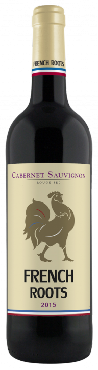French Roots Cabernet Sauvignon, 0.75 л., 2015 г.