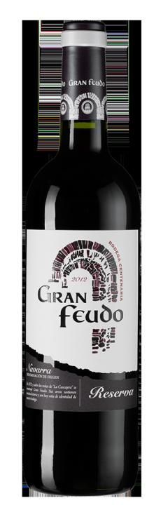 Gran Feudo Reserva, 0.75 л., 2012 г.