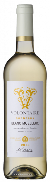 Volontaire Blanc Moelleux, 0.75 л., 2013 г.
