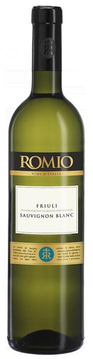 Romio Sauvignon Blanc, 0.75 л., 2017 г.