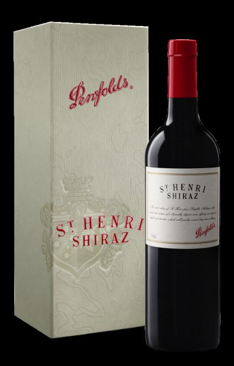 Penfolds St Henri Shiraz in gift box, 0.75 л., 2015 г.