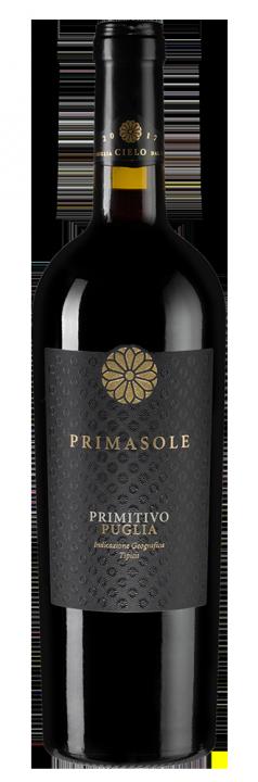 Primasole Primitivo, 0.75 л., 2017 г.