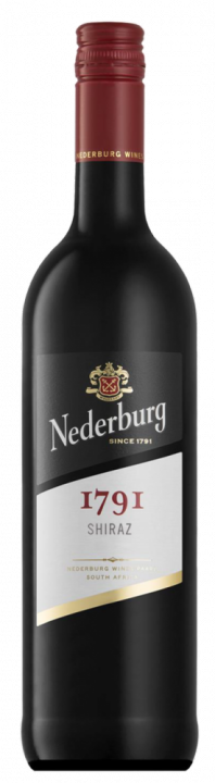 Nederburg 1791 Shiraz, 0.75 л., 2017 г.