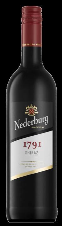 Nederburg 1791 Shiraz, 0.75 л., 2017 г.