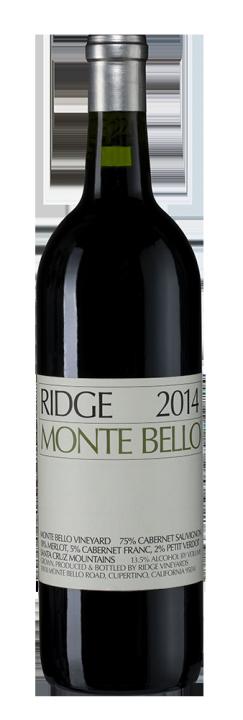 Monte Bello, 0.75 л., 2014 г.