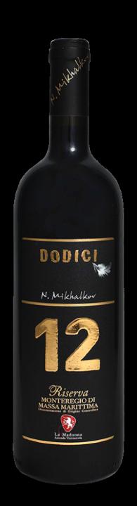 Dodici Monteregio Riserva, 0.75 л., 2012 г.
