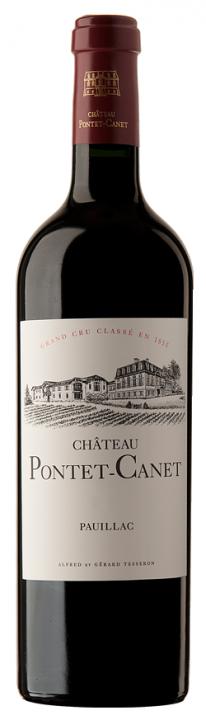 Chateau Pontet-Canet, 0.75 л., 1990 г.