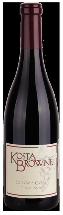 Sonoma Coast Pinot Noir, 0.75 л., 2015 г.