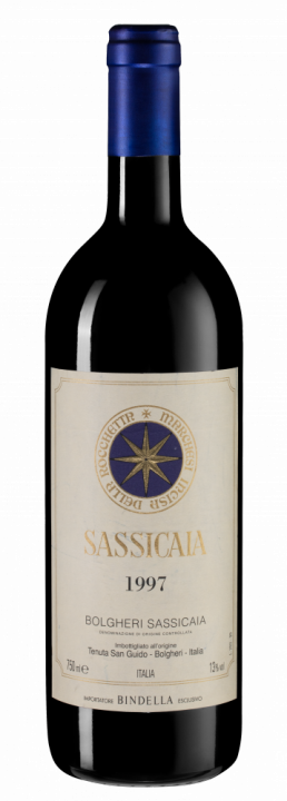 Sassicaia, 0.75 л., 1997 г.