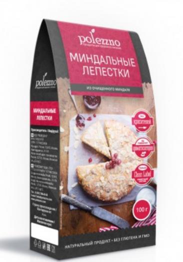 ПОЛЕЗЗНО Миндальные лепестки 100 г