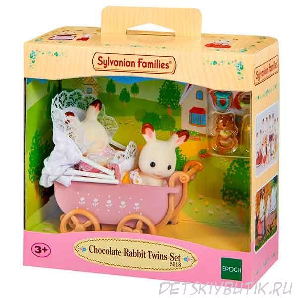 Набор «Двойняшки в коляске», Sylvanian Families