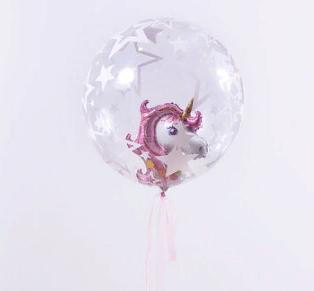 Bubbles(прозрачные шары с наполнением)