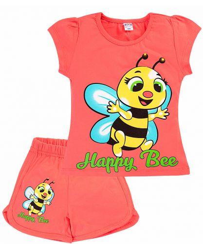 Комплект для девочек 4-8 лет BK005GL9