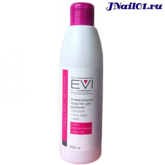 EVI professional, Универсальное средство для удаления биогеля, геля и гель-лака, 250 мл