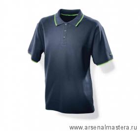Мужская рубашка поло синяя Festool XL 498455
