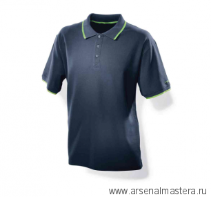 Мужская рубашка поло синяя Festool XXL 498456
