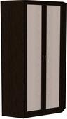 Шкаф угловой несимметричный (модуль 403) венге