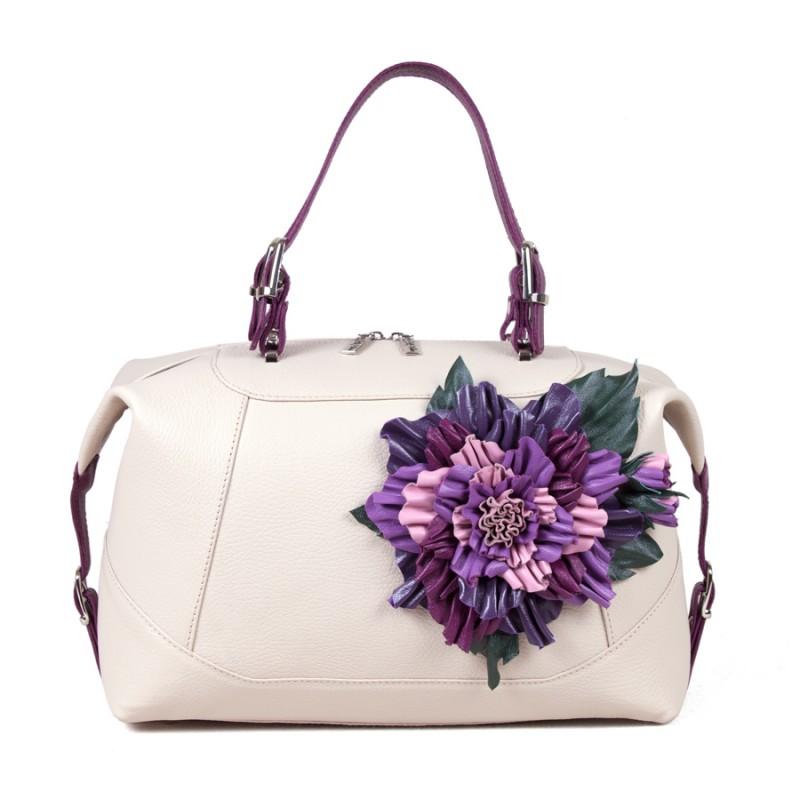 Средняя сумка Цветок 3D >Артикул: AA160233