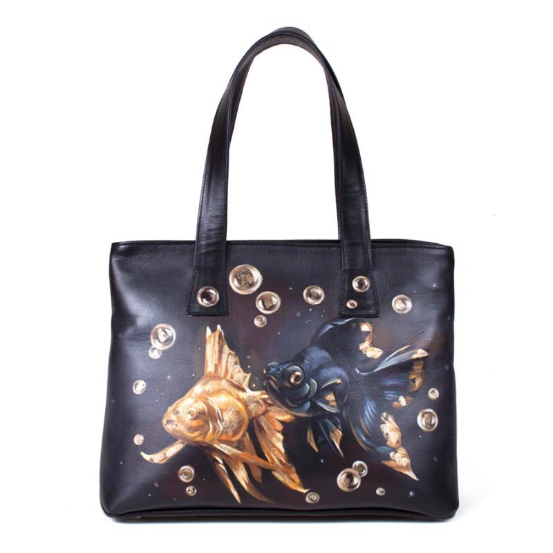 Средняя сумка Золотые рыбки >Артикул: AA200061