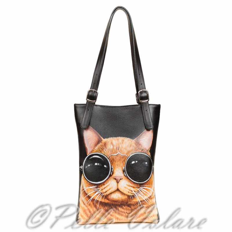 Средняя сумка Брутальный кот >Артикул: AA120081