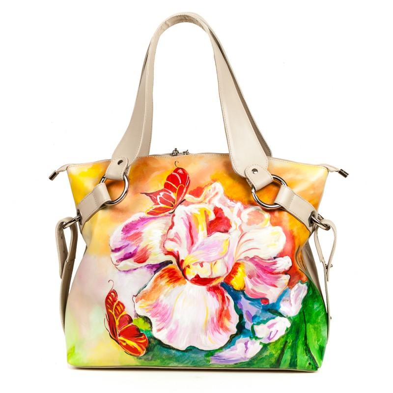 Средняя сумка Тропический цветок >Артикул: AA210101