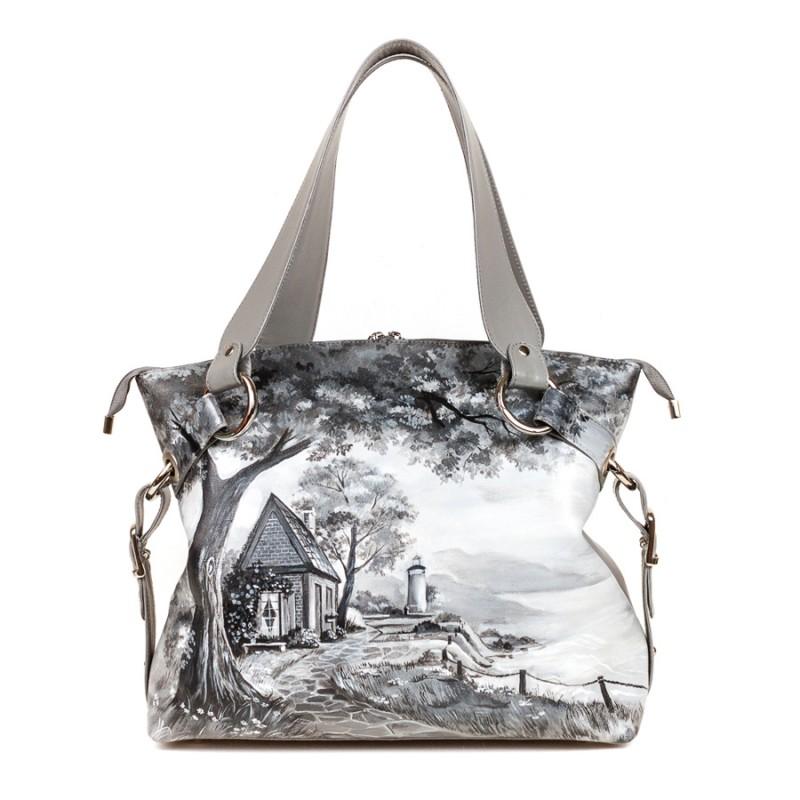 Средняя сумка Домик у маяка >Артикул: AA210111