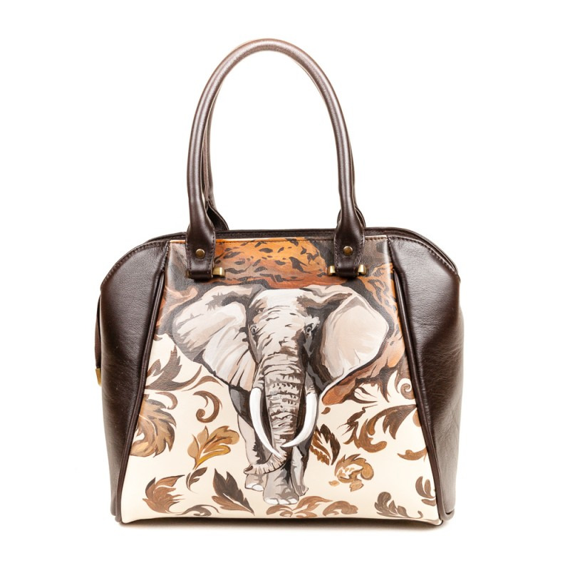Средняя сумка Африканский слон >Артикул: AA230131