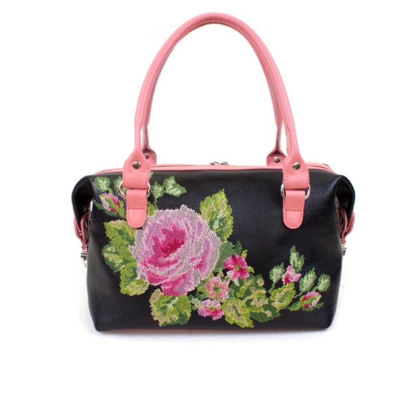 Маленькая сумочка Вышивка Роза >Артикул: AA410082