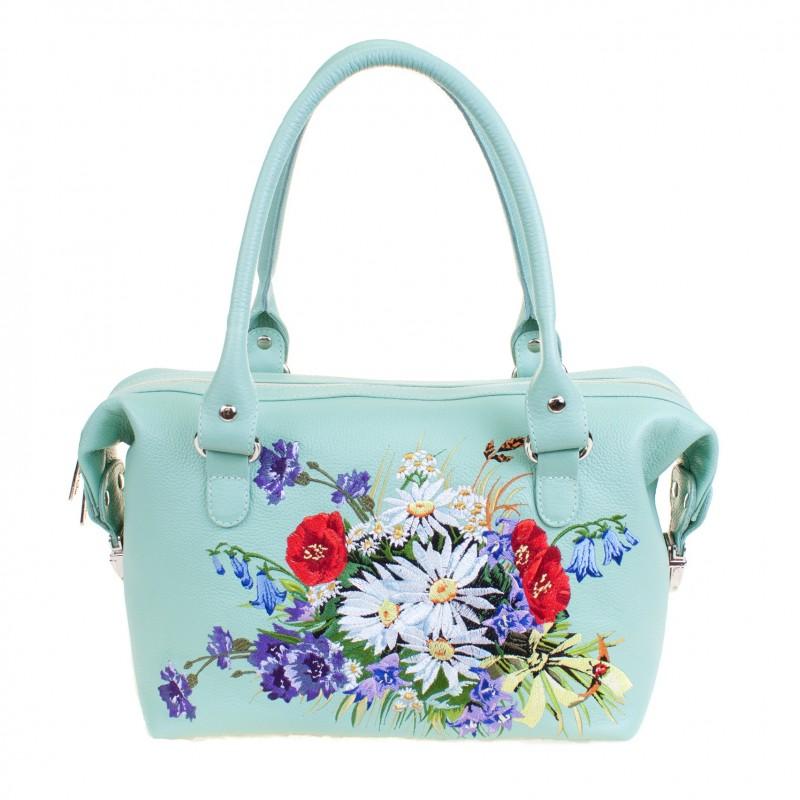 Маленькая сумочка Вышивка Букет >Артикул: AA410042