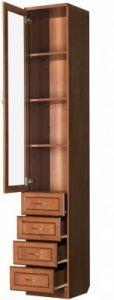 Шкаф для книг узкий (модуль 205)