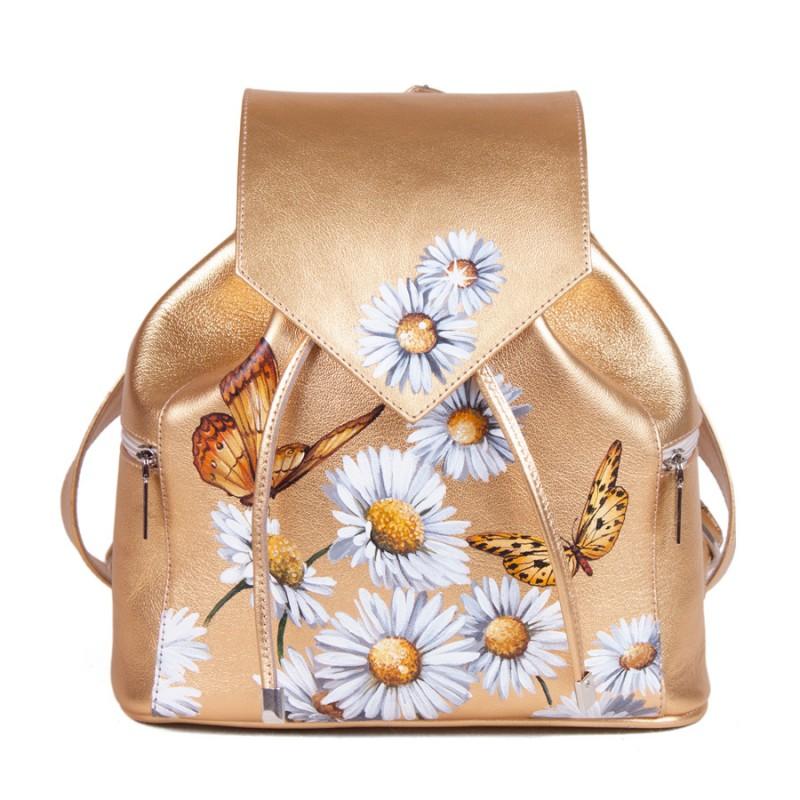 Женский рюкзак Ромашки золотые >Артикул: AF020151