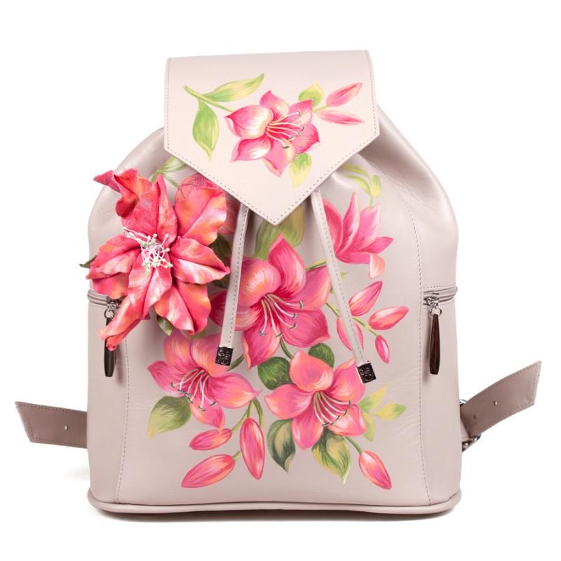 Женский рюкзак Лилии 3D >Артикул: AF020055