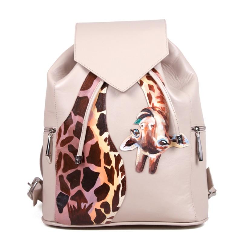 Женский рюкзак Весёлый жираф >Артикул: AF020041