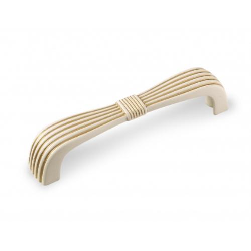 Ручка-скоба FS-190 096 Золото прованс/1013 жемчужно-белый матовый (TЗ)