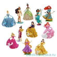 Набор из 11 фигурок Принцессы Диснея