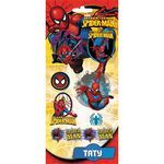 Тату цветные Action! Spiderman (арт. SM-AD06008)